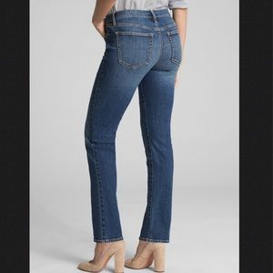 GAP 1969 Med Wash Real Straight Sz 32 -14